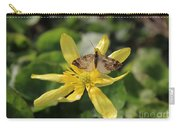 Tasting Marsh Marigold  Carry-all Pouch