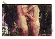 Love Me In The Garden Carry-all Pouch