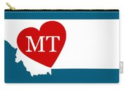 Love Montana White Carry-all Pouch