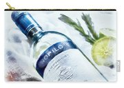 Love My Wine Carry-all Pouch by Pennie  McCracken