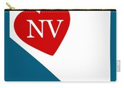 Love Nevada White Carry-all Pouch