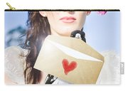 Love Note Delivery From The Heart Carry-all Pouch