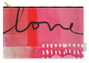 Love Notes- Art By Linda Woods Carry-all Pouch