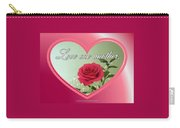 Love One Another Card Carry-all Pouch