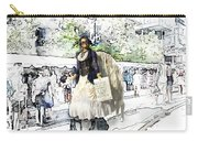 Love One Another - Steampunk Angel Carry-all Pouch