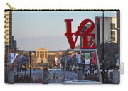 Love Park And The Parkway In Philadelphia Carry-all Pouch