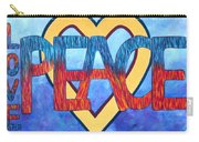 Love Peace Carry-all Pouch
