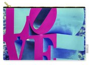 Love Philadelphia Neon Pink Carry-all Pouch