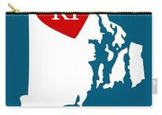 Love Rhode Island White Carry-all Pouch