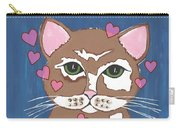 Loveable Cat - Cute Animals Carry-all Pouch