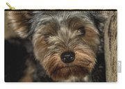 Loveable Yorkie  Carry-all Pouch