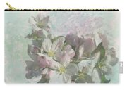 Lovely Apple Blossoms Carry-all Pouch
