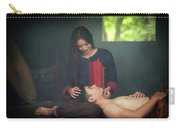 Lovely Happy Couple Have Fun.romantic Photo.hugs Together Carry-all Pouch