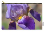 Lovely Leaning Iris Mother's Day Card Carry-all Pouch