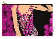 Lovely Luna Among The Roses C 1966 Carry-all Pouch