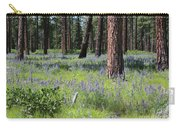 Lovely Lupine In The Mountains Carry-all Pouch