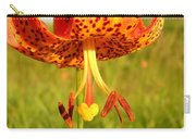Lovely Orange Spotted Tiger Lily Carry-all Pouch
