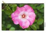 Lovely Pink Rose Carry-all Pouch