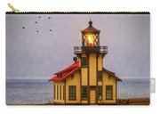 Lovely Point Cabrillo Light Station Carry-all Pouch