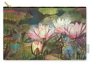 Lovely Waterlilies 7 Carry-all Pouch