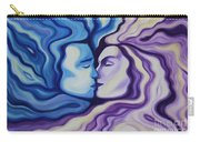 Lovers In Eternal Kiss Carry-all Pouch