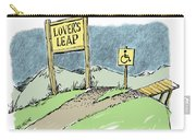 Lover's Leap. Carry-all Pouch