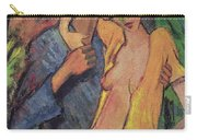 Lovers Carry-all Pouch by Otto Muller