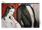 Lovers Quarrel, 1846 Carry-all Pouch