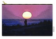 Lovers Sunset Carry-all Pouch