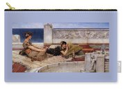 Loves Votaries Lawrence Alma-tadema Carry-all Pouch