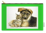 Loving Cat And Dog Carry-all Pouch