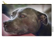 Loving Pitbull Eyes Carry-all Pouch