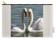 Loving Swans Carry-all Pouch