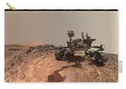 Low-angle Self-portrait Of Nasa's Curiosity Mars Rover Carry-all Pouch