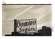 Low Angle View Of Domino Sugar Sign Carry-all Pouch