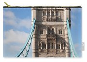 Low Angle View Of Tower Bridge, London Carry-all Pouch