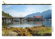 Low Tide At Horseshoe Bay Canada On A Sunny Day Carry-all Pouch