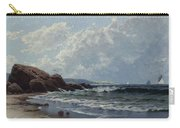 Low Tide, Hetherington's Cove, Grand Manan By Alfred Thompson Bricher Carry-all Pouch