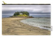 Low Tide In Popham Beach Maine Carry-all Pouch