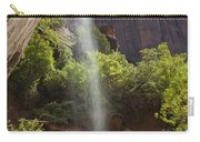 Lower Emerald Pool Falls In Zion Carry-all Pouch