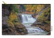 Lower Falls In Autumn Carry-all Pouch