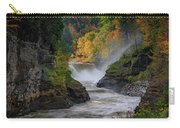 Lower Falls Of The Genesee River Carry-all Pouch