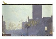 Lower Fifth Avenue Carry-all Pouch by Childe Hassam