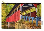 Lower Humbert Covered Bridge 2 - Paint Carry-all Pouch