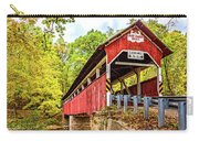 Lower Humbert Covered Bridge 3 Carry-all Pouch
