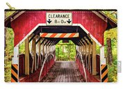 Lower Humbert Covered Bridge 5 Carry-all Pouch