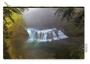 Lower Lewis Falls Foggy Morning Carry-all Pouch