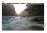 Lower Lewis River Falls During Sunset Carry-all Pouch