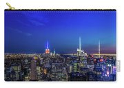 Lower Manhattan At Night Carry-all Pouch
