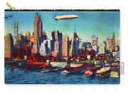 Lower Manhattan Skyline New York City Carry-all Pouch